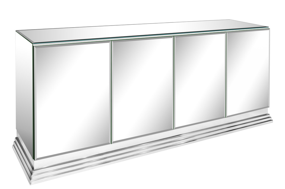 70s 85 Italian mirrored chrome base credenza48 hires.jpg