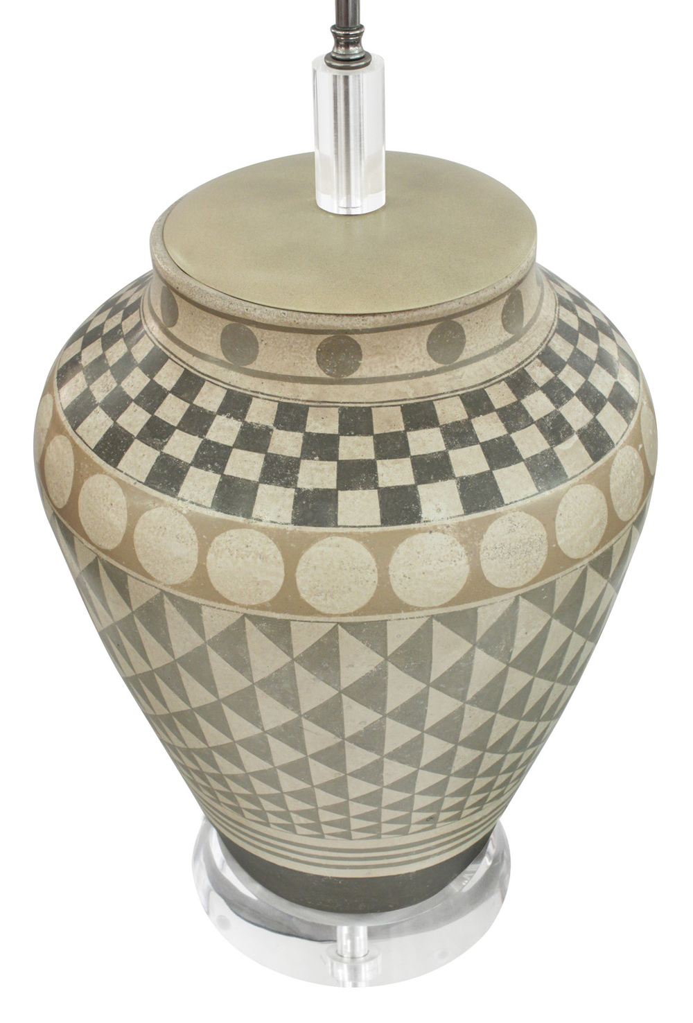 Trattoria G 55 ceramic geom decor tablelamp221 detail1 hires.jpg