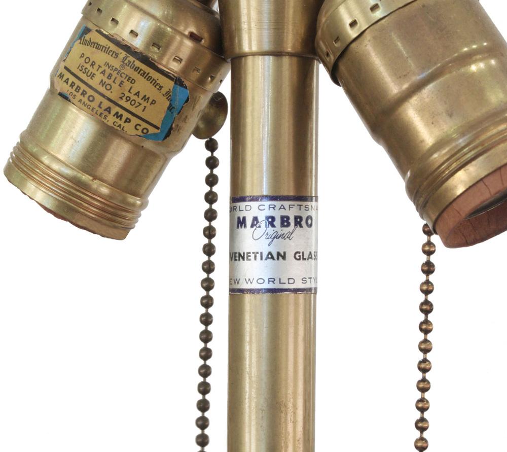 Marbro 55 turquoise Seguso tablelamp179 detail5 hires.jpg