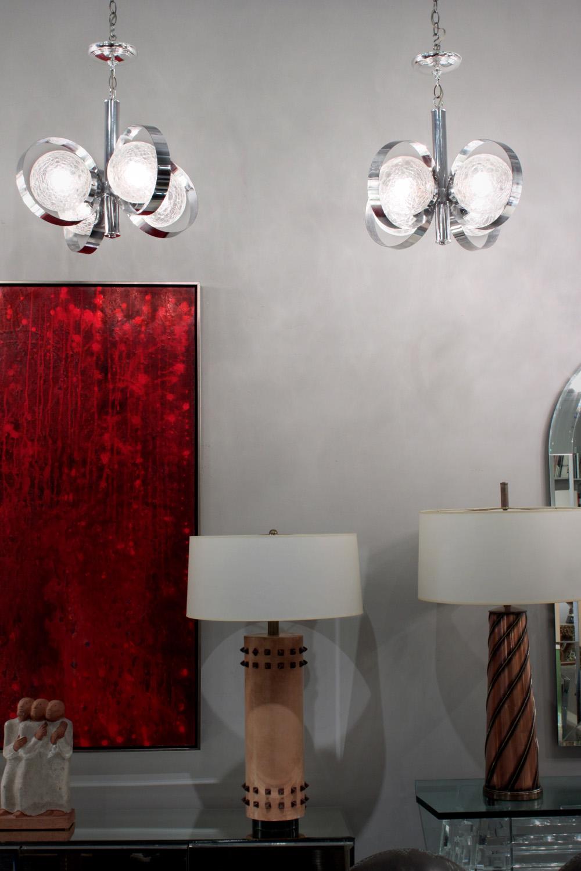 70s 85 pr Ital chrome+crackle gls chandelier220 detail6 hires.jpg