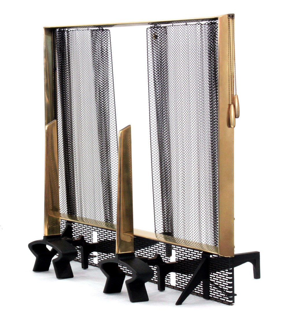 Deskey 75 andirons, screen+tools fireplace56 detail1 hires.jpg