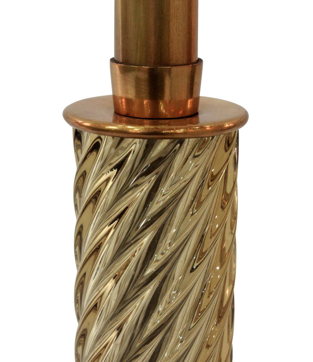 Venini 45 Diamante amber glass detail1 tablelamp208 hires.jpg