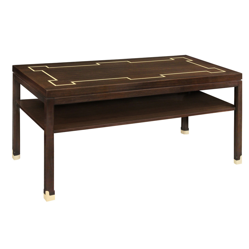 Tommi Parzinger Long Side/Console Table In Mahogany With Inlays 1960s U2014  Lobel Modern NYC