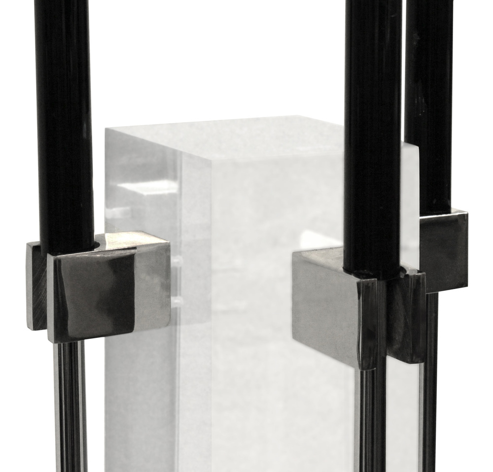 Albrizzi 25 lucite, chrome, blk handl detail fireplace30 hires.jpg