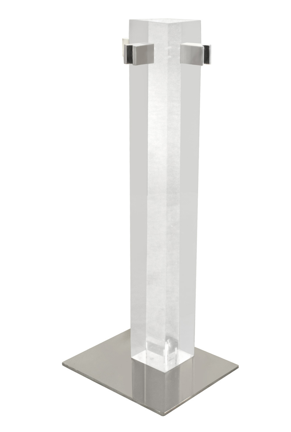 Albrizzi 25 lucite, chrome, blk handl lucite fireplace30 hires.jpg