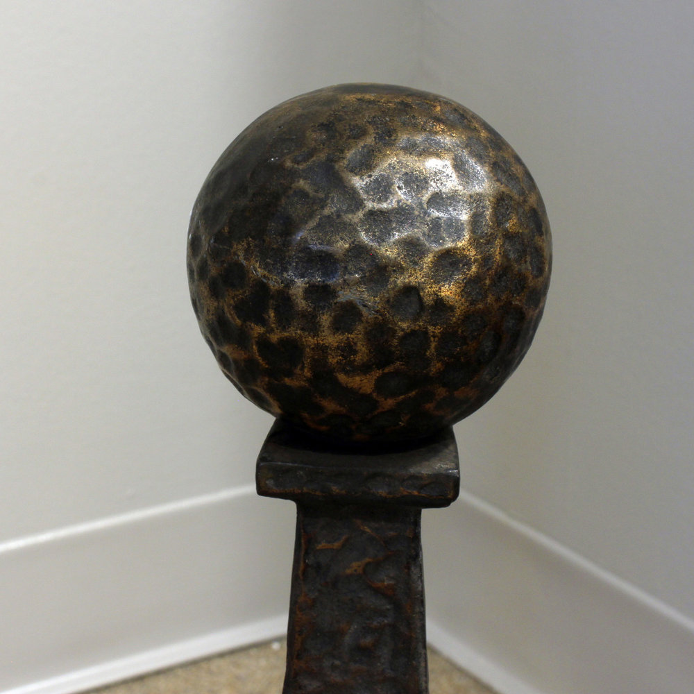 50's 35 hammered copper balls fireplace 65 hires detail 2.jpg