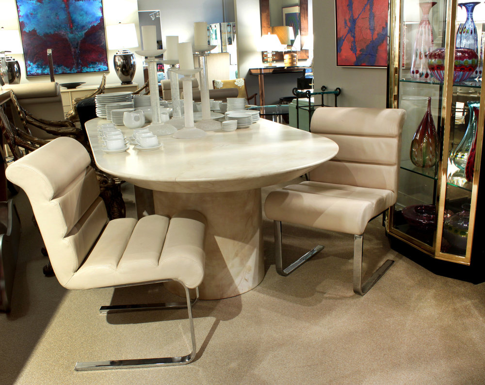 Pace 180 Mariani leather+chrome diningchairs1755 atm hires.jpg