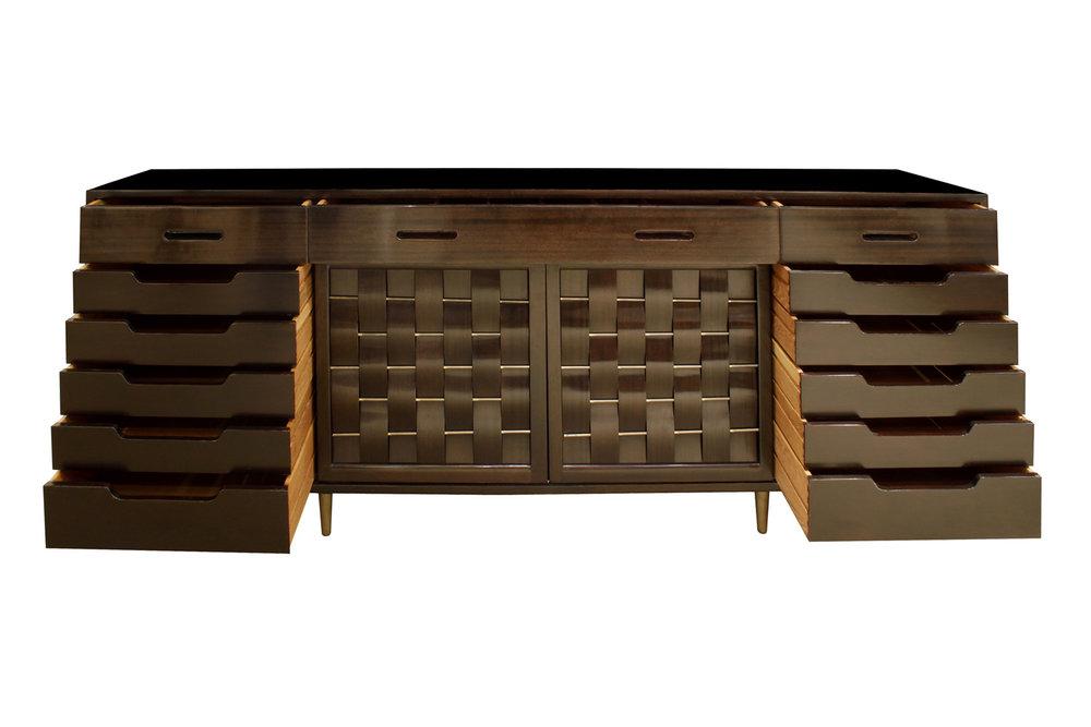 Dunbar 150 4 panel woven doors sideboard22 hires detail 4.jpg