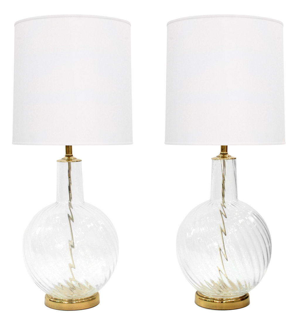 Murano 55 lrg clear swirl brass tablelamps314 hires.jpg