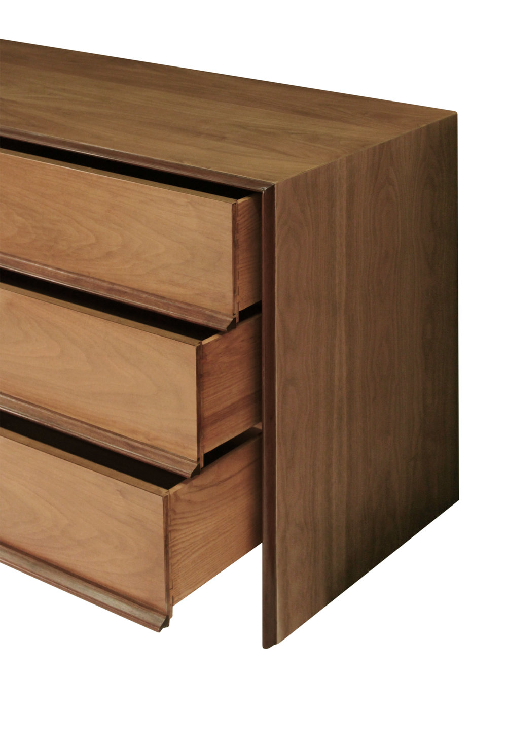 Gibbings 90 walnut framed out 6 d chestofdrawers125 open hires.jpg