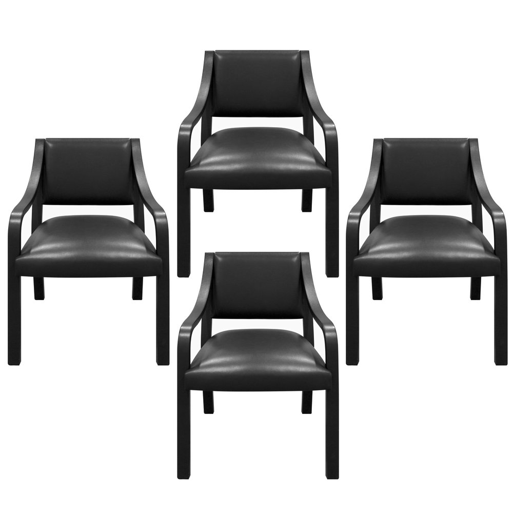 Springer 200 Regency Arm blk lthr diningchairs176 hires main set.jpg