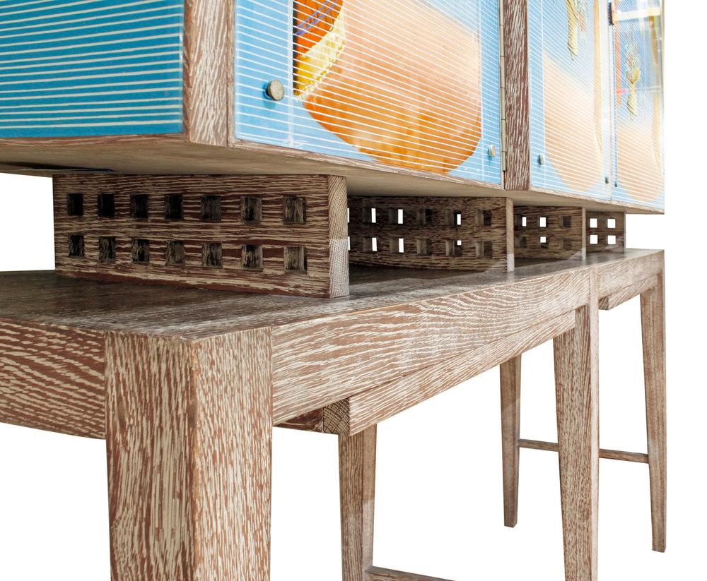 Ponti fontana arte painted gls cabinet47 hires corner wood detail jpg