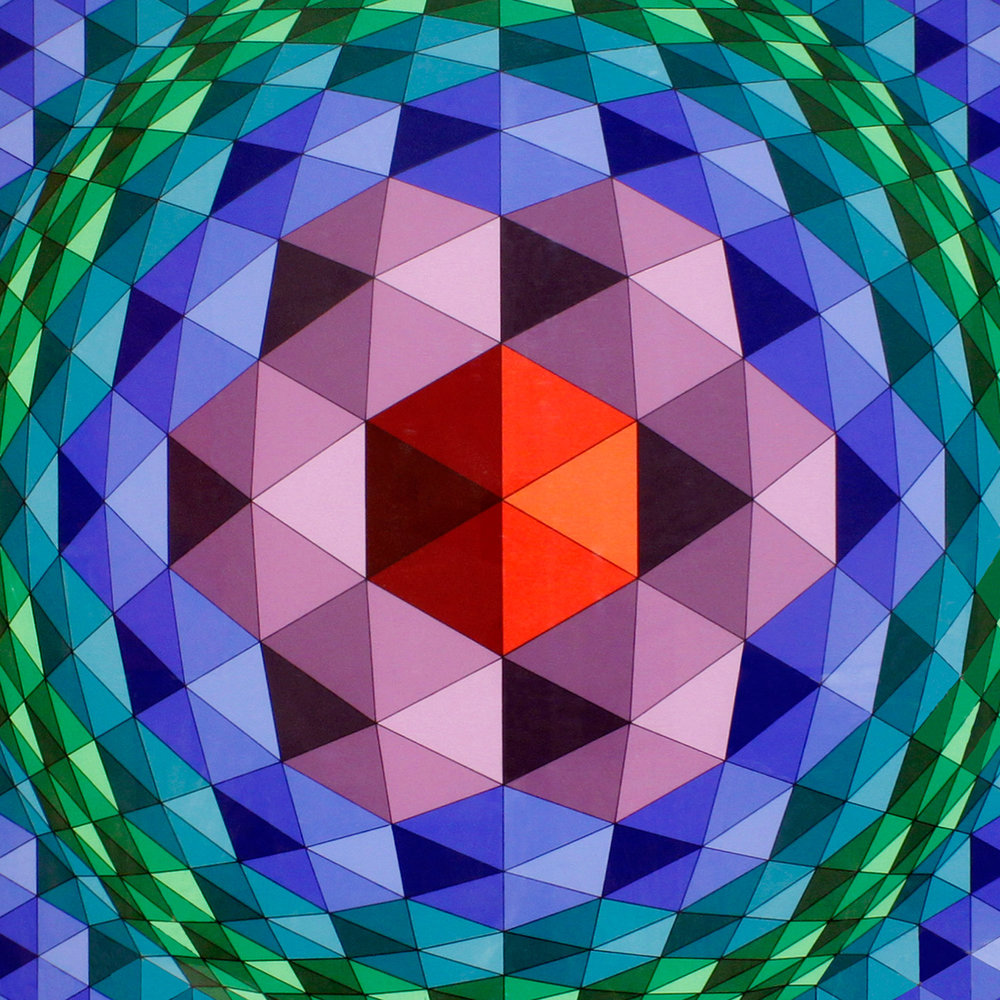 Vasarely 45 lrg geom prpl frame painting138 hires detail.jpg