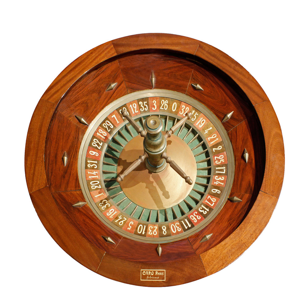 Caro Paris 65 roulette wheel gametable52 top.jpg