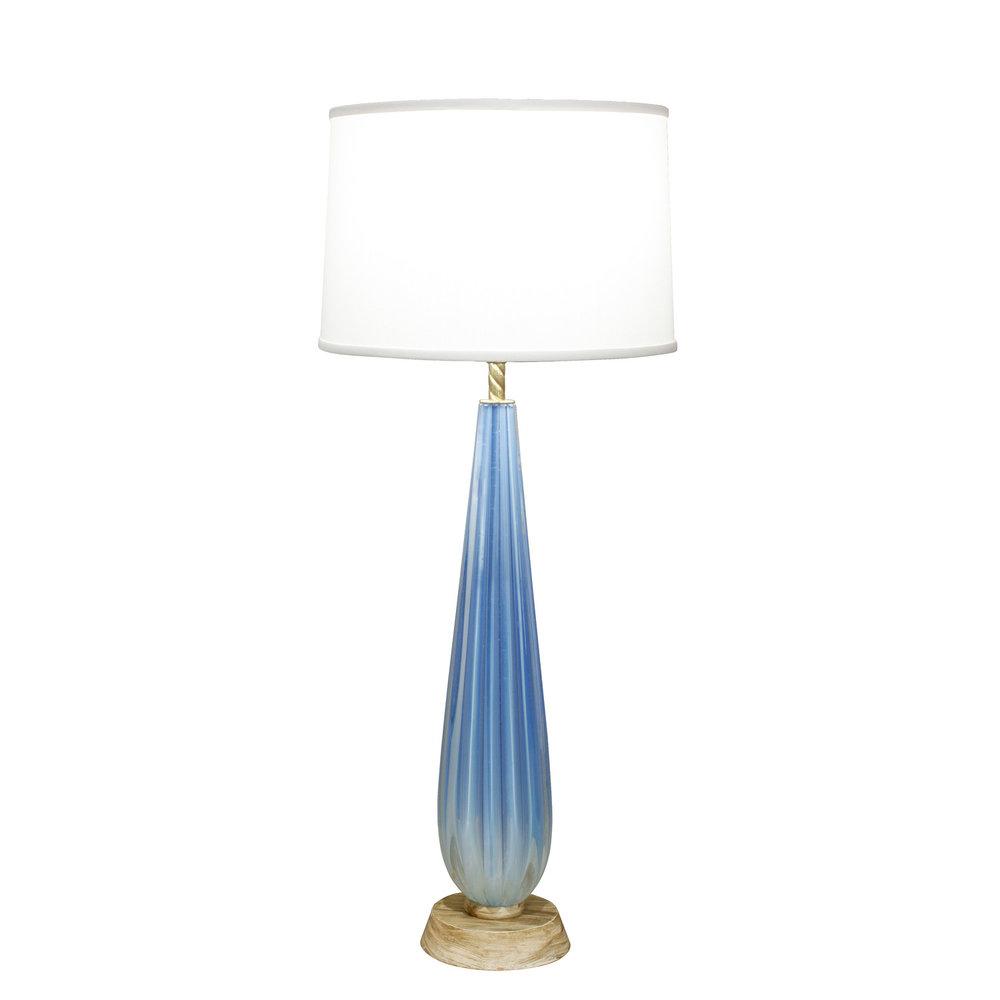Seguso 35 blue channeled tablelamp241 man.jpg