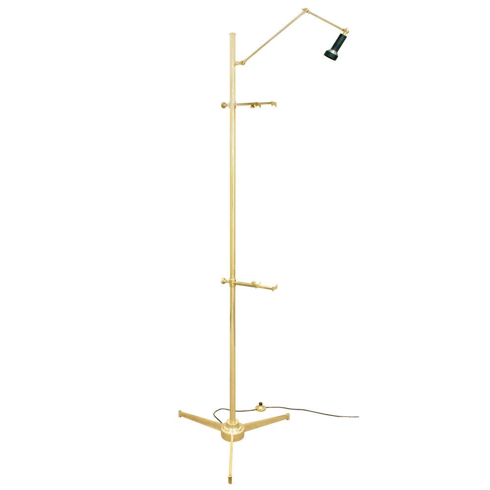 Arredoluce 85 brass picture holdr floorlamp151 man.jpg