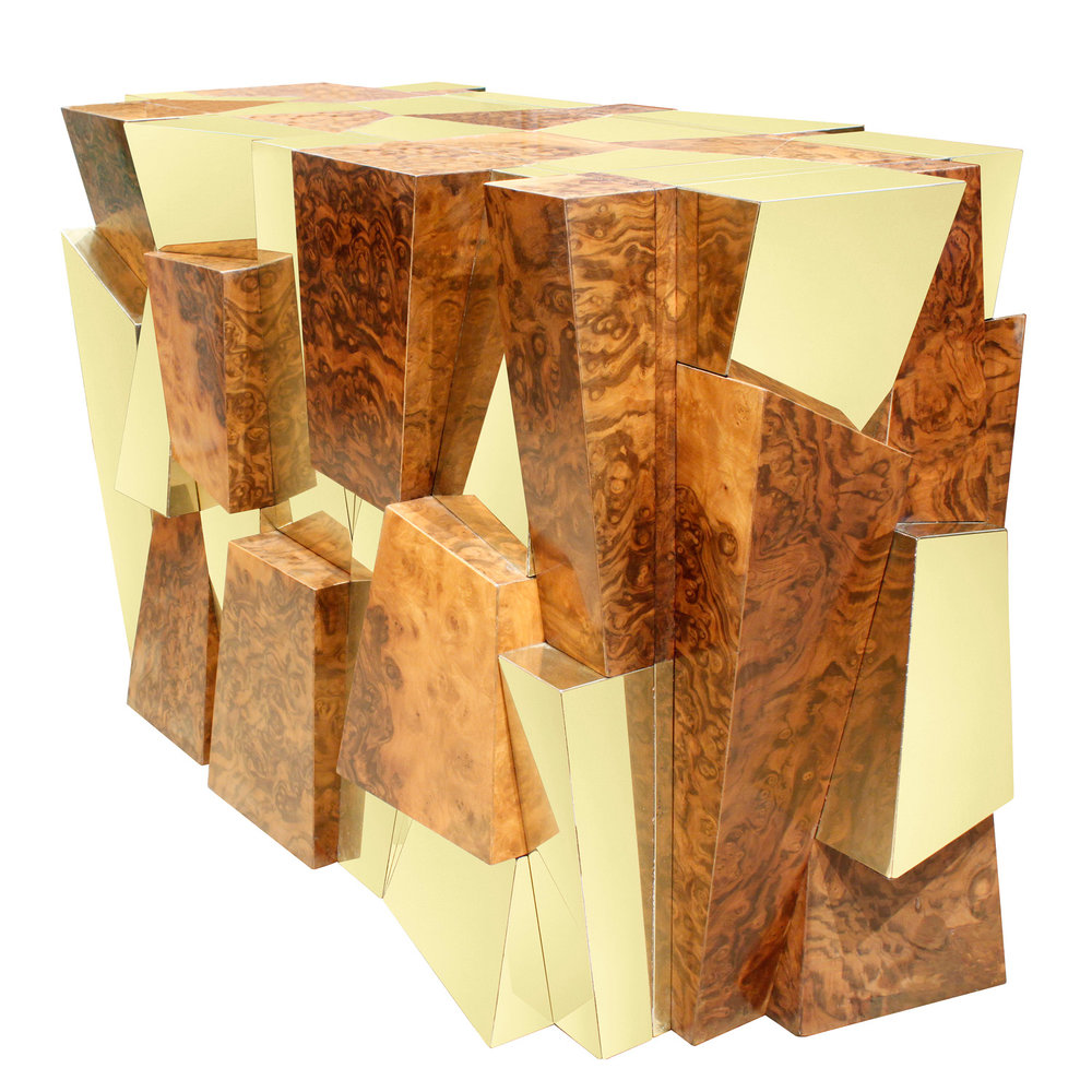 Evans 55 burl+brass faceted diningtable153 agl.jpg