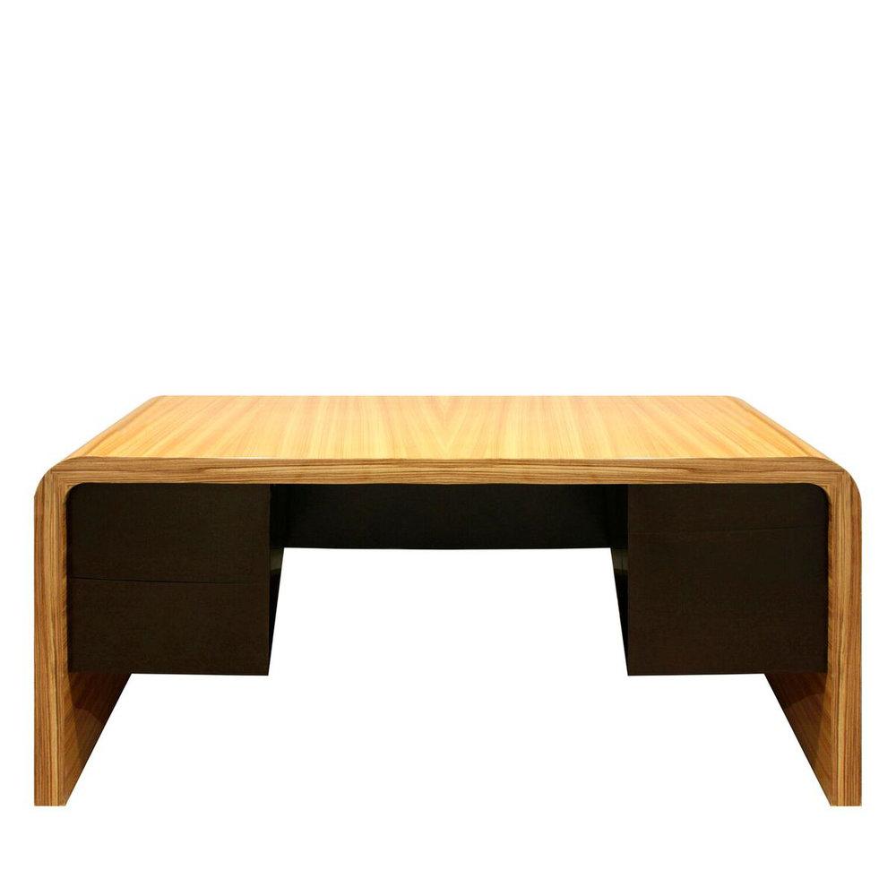 Kagan 150 Crescent Desk zebrawd front desk90.jpg