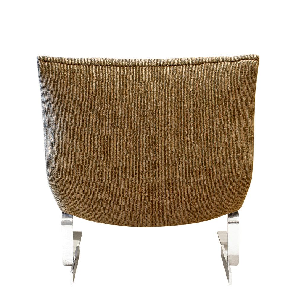 Saporiti 85 Onda steel armless loungechairs161 bak.jpg