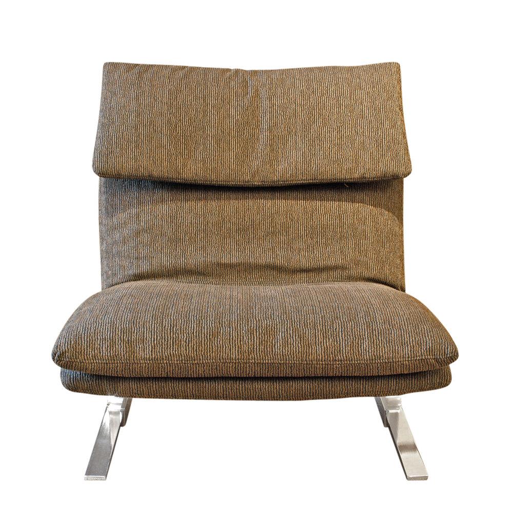 Saporiti 85 Onda steel armless loungechairs161 fnt.jpg