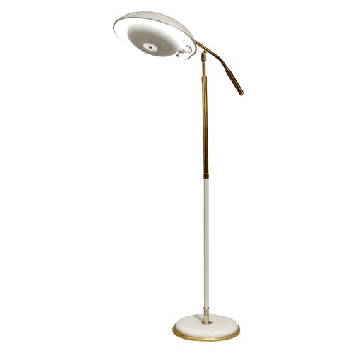 Gerald thurston articulating reading lamp 1950s