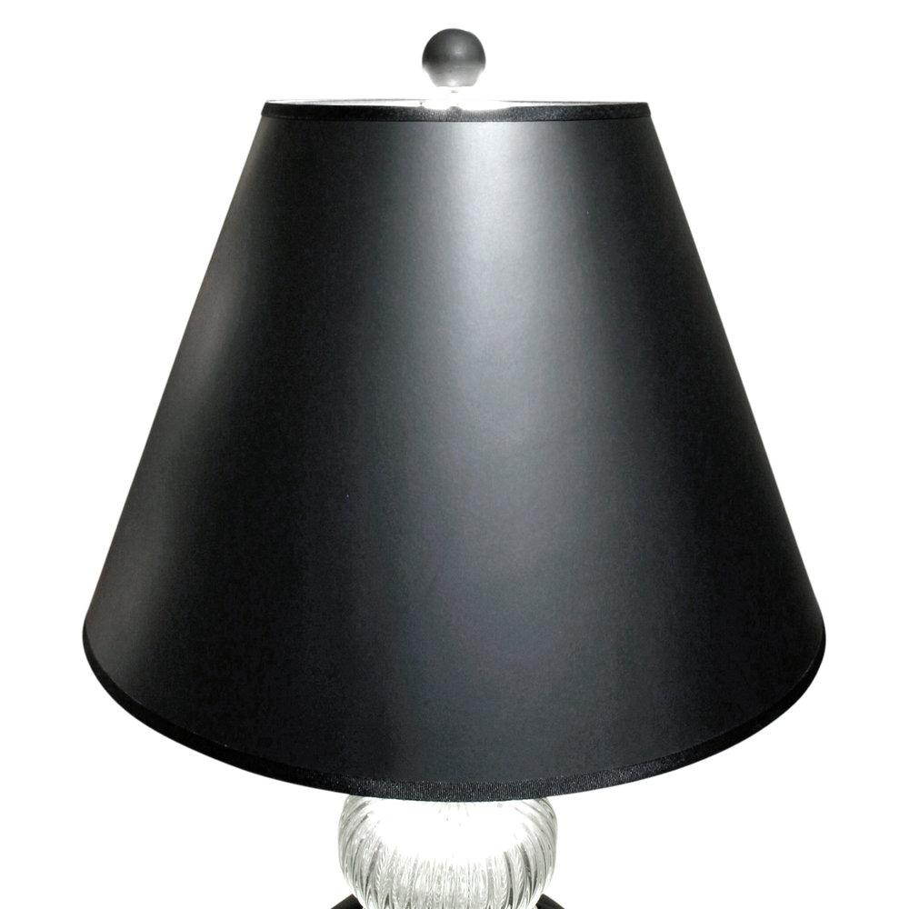 Austrian 35 smoke glass+clear neck tablelamp90 Top.jpg
