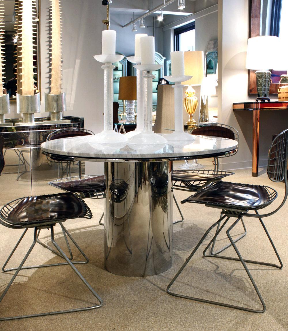 Brueton 95 polished ss+marble table13 atm.jpg