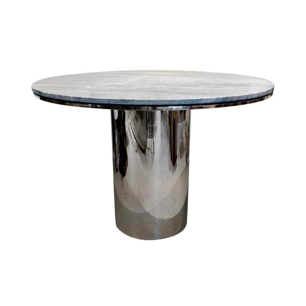 Brueton 95 polished ss+marble table13 frnt 4.jpg