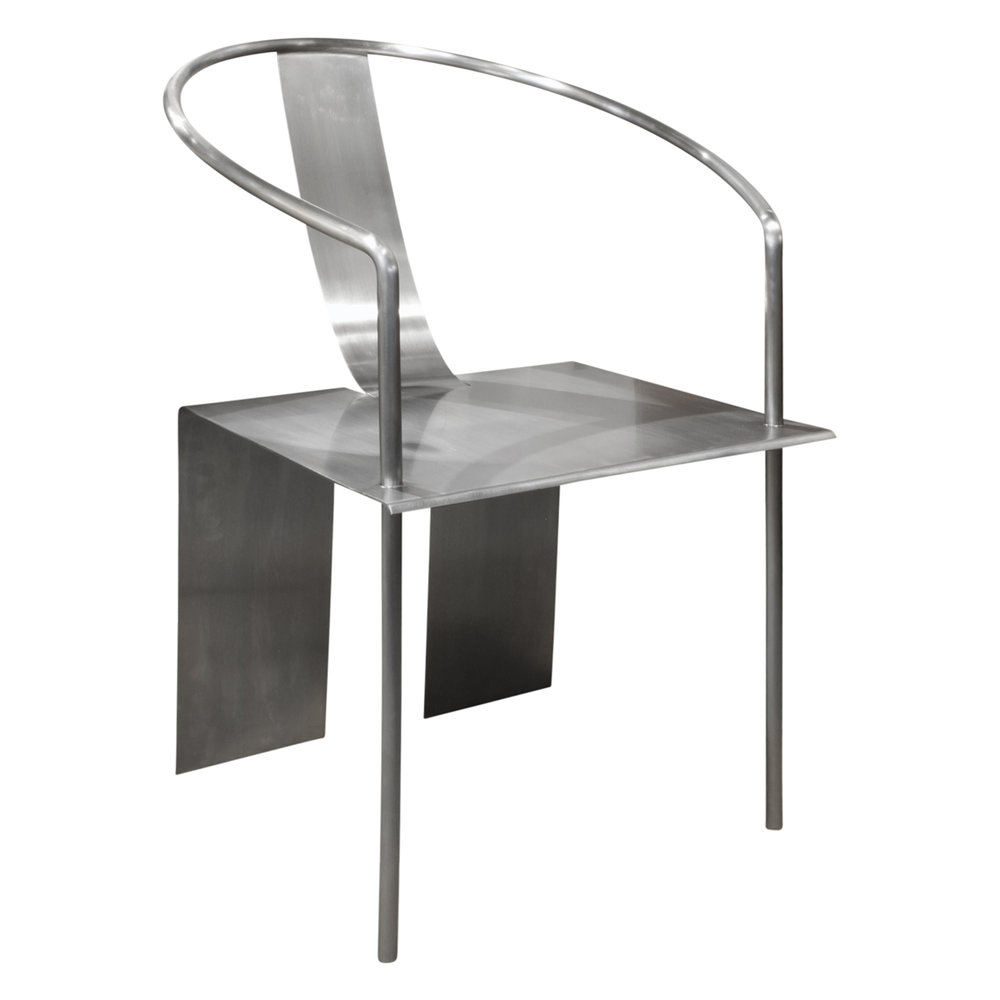 Shao Fan Sculptural Stainless Steel Chair 2000 (signed, Dated And Numbered)  U2014 Lobel Modern NYC