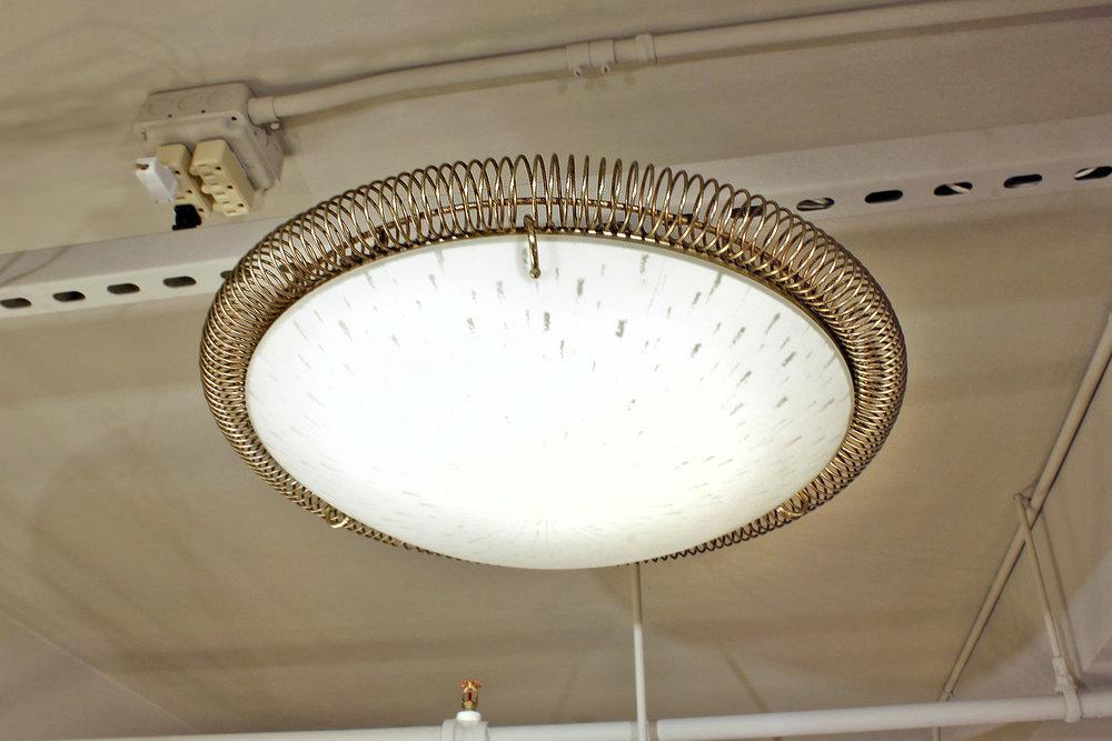 Thurston 35 white glass+brasscoil chandelier232 atm on.jpg