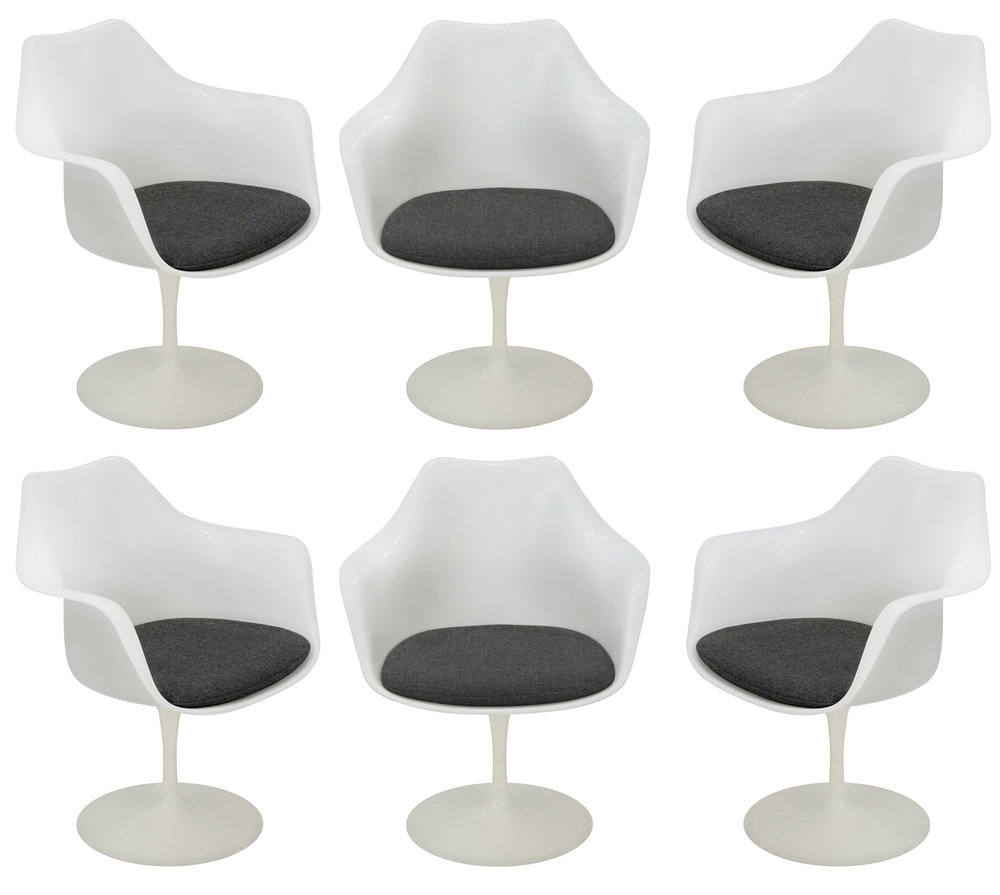 Knoll 85 Saarinen Tulip set6 diningchairs174 hires.jpg