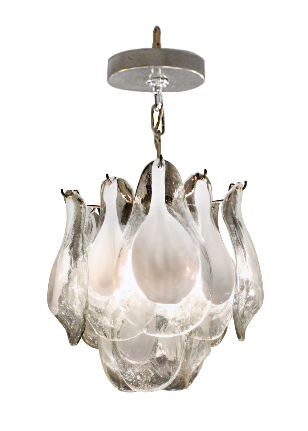Vistosi 45 small clr+white petals chandelier189 main4.jpg