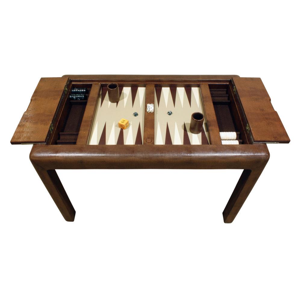 Springer 150 emb lizard backgammon gametable54 dtl2.jpg