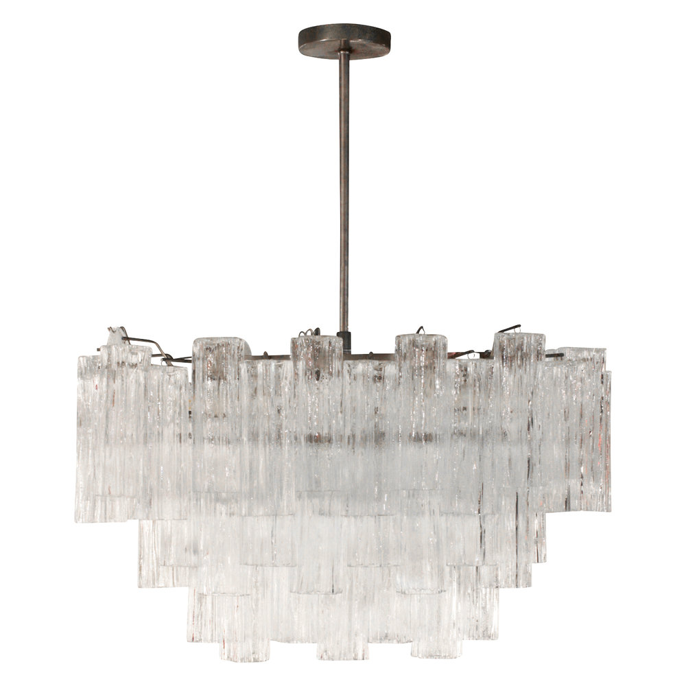 Chandeliers pendants lobel modern nyc beautiful tronchi murano glass chandelier 1970s on hold mozeypictures Choice Image