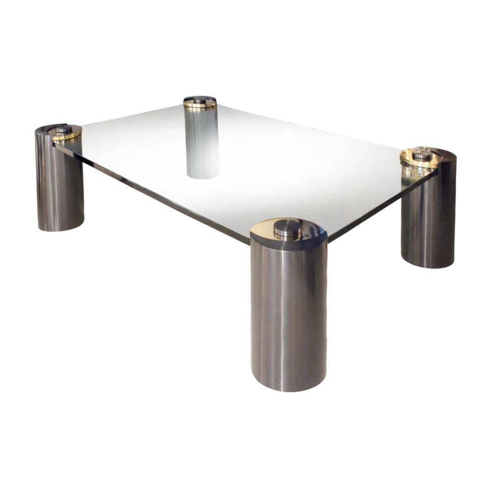 Springer 150 Round Leg gunmtl+brs coffeetable442 angl.jpg