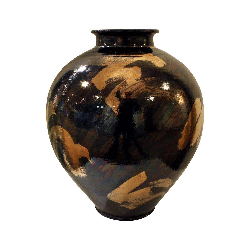 McCloy 65 vase+charger silver ceramic43 vase.jpg