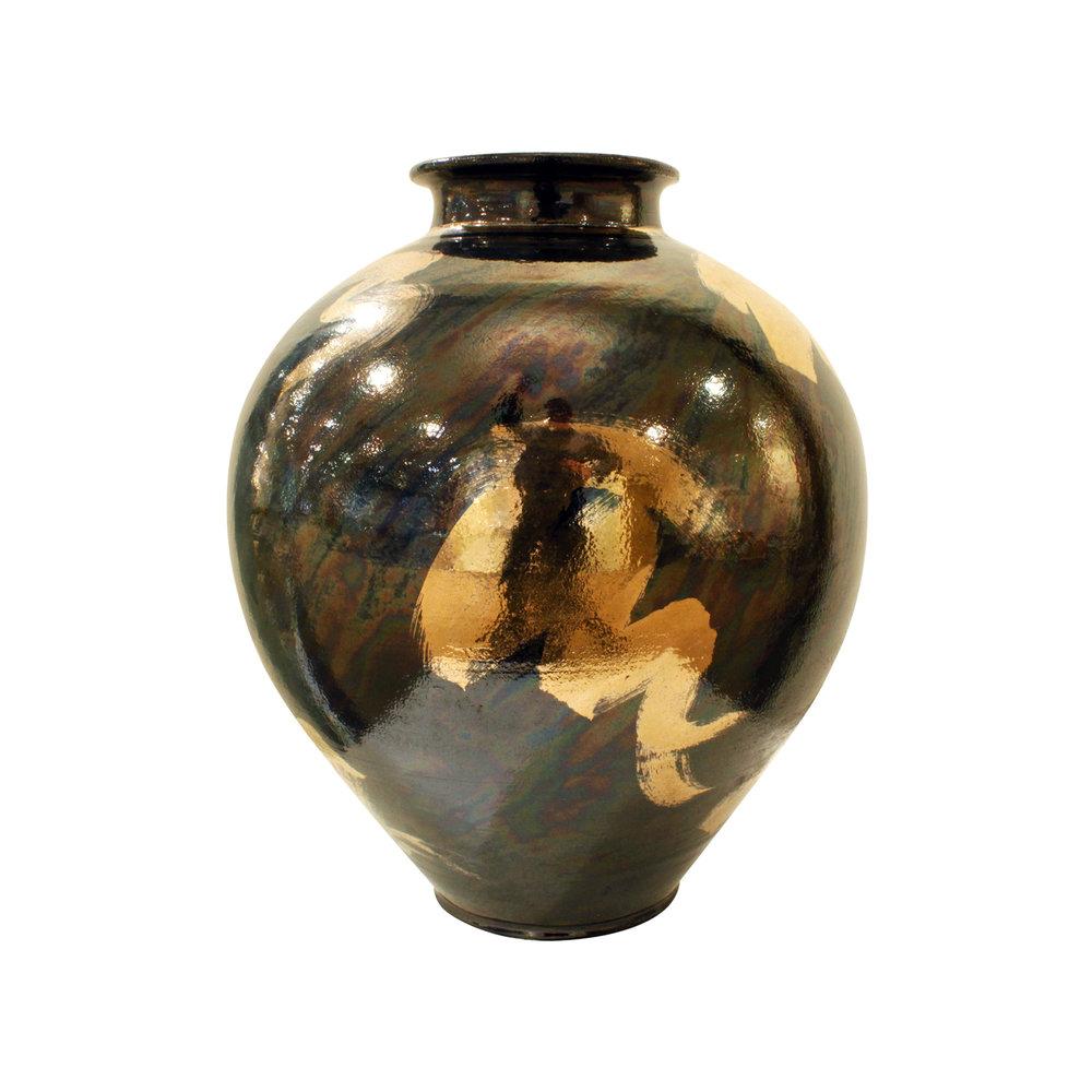 McCloy 65 vase+charger silver ceramic43 vase2.jpg