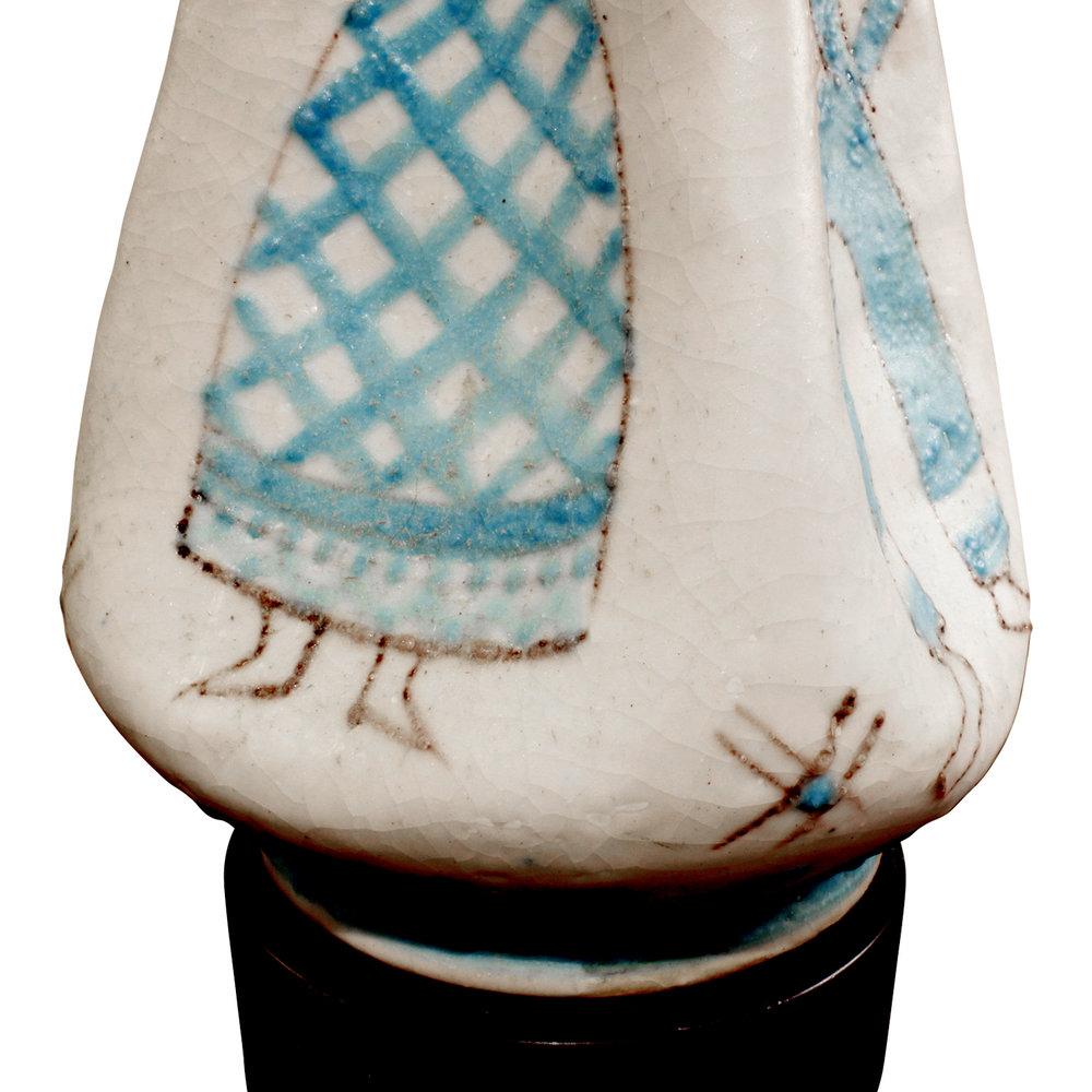 CAS 35 Vietri figural ceramic tablelamp266 dtl8.jpg