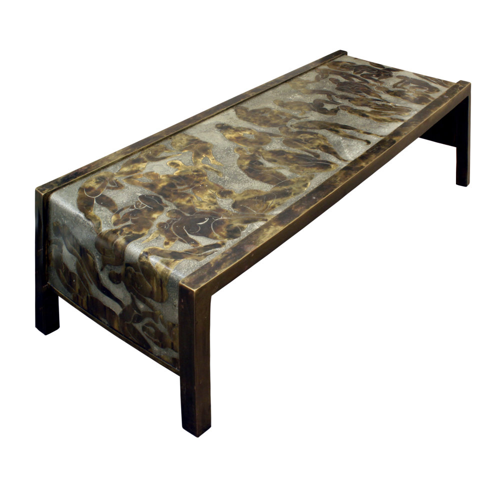LaVerne 450 Bathers Waterfall Coffee Table angl.jpg