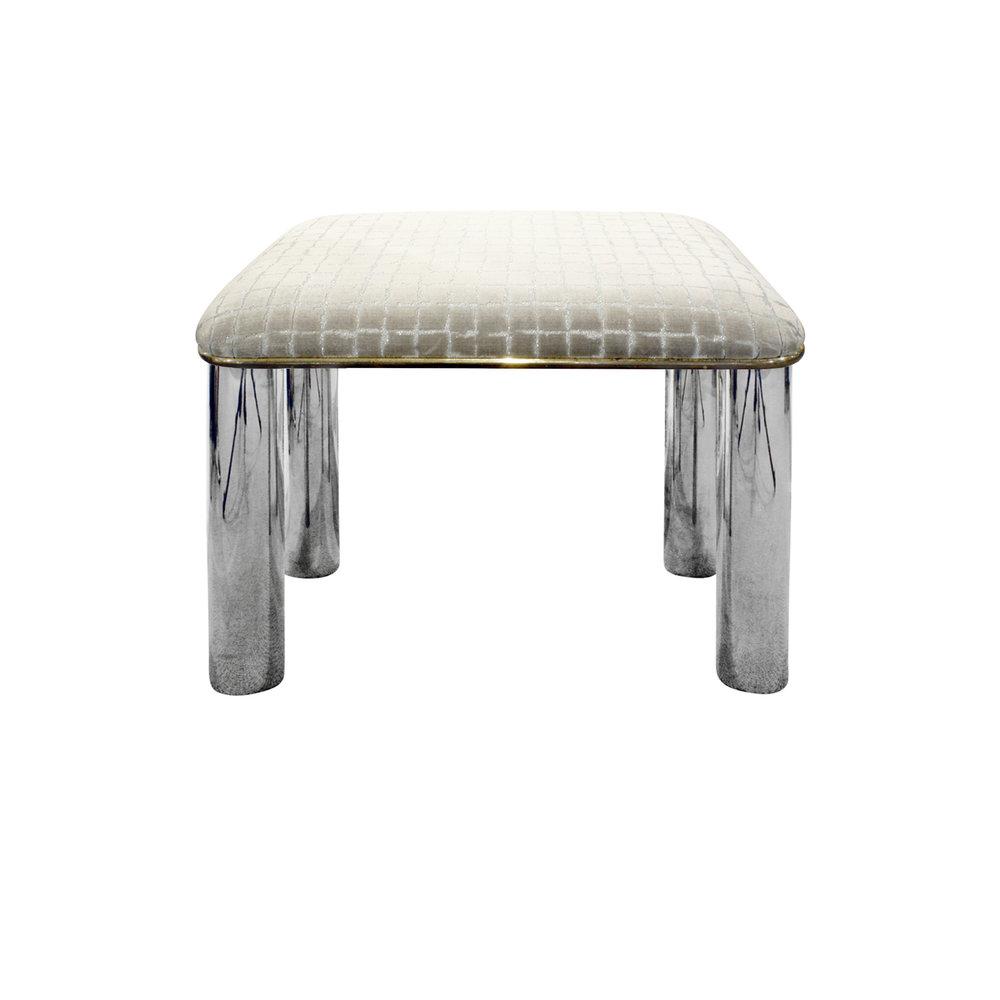 Springer 55 round stainless legs bench140 main.jpg