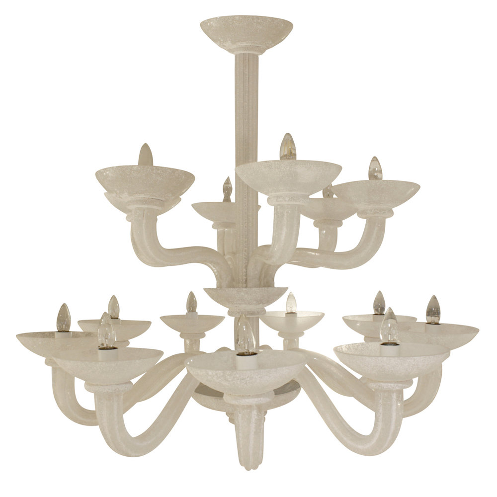 Springer 250 Seguso 2-tier scavo chandelier249 3.jpg