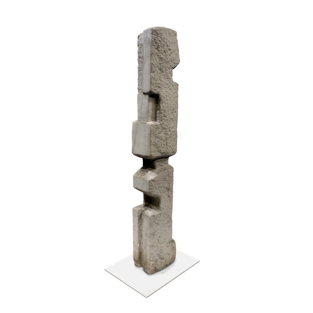 Feinberg 95 Totem Vermont Marble sculpture122 .jpg