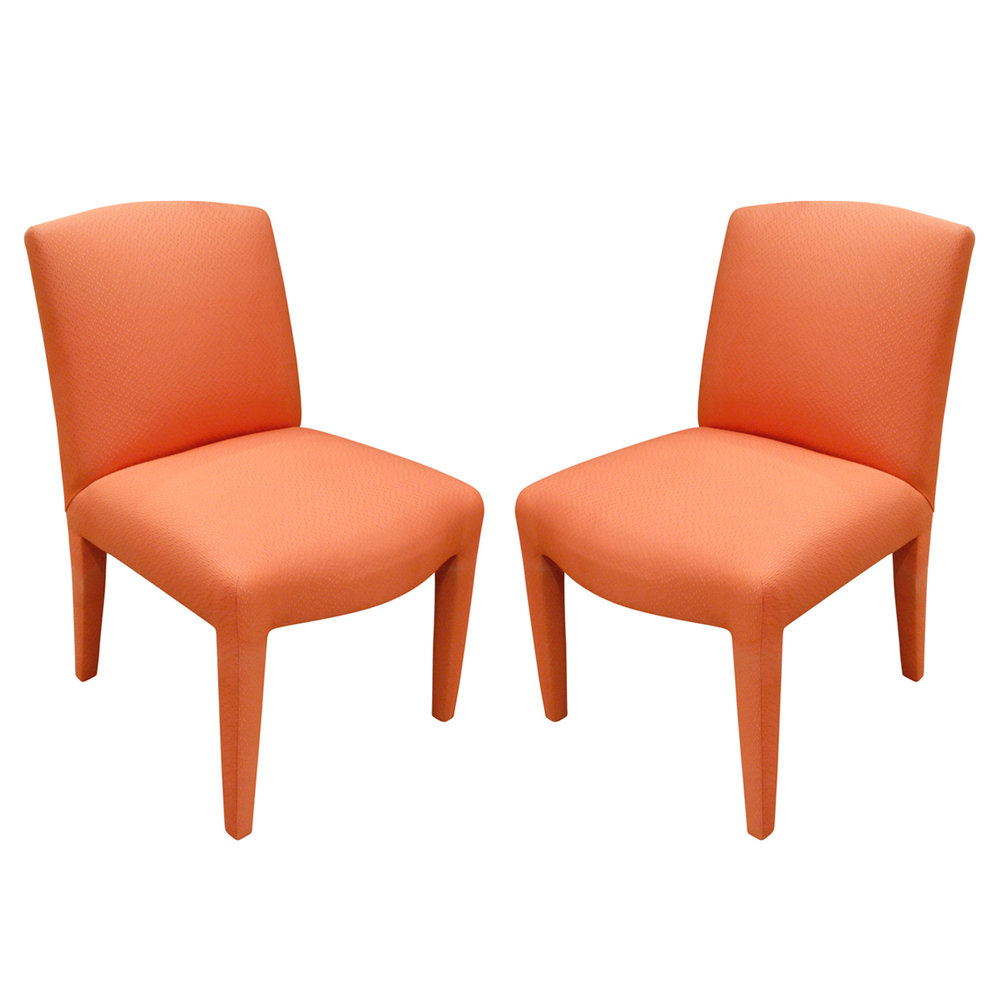 Donghia 120 set of 10 salmon pink diningchairs185 angl x 2.jpg