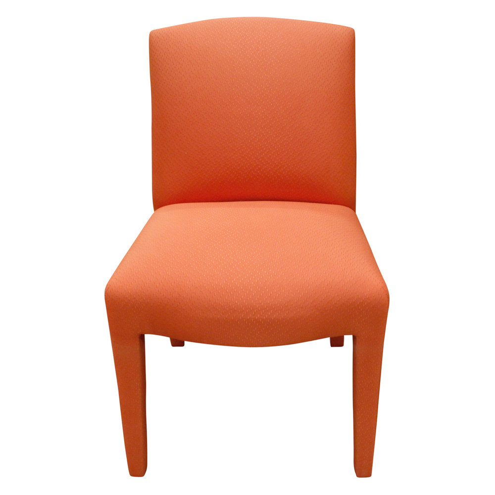 Donghia 120 set of 10 salmon pink diningchairs185 sngl.JPG