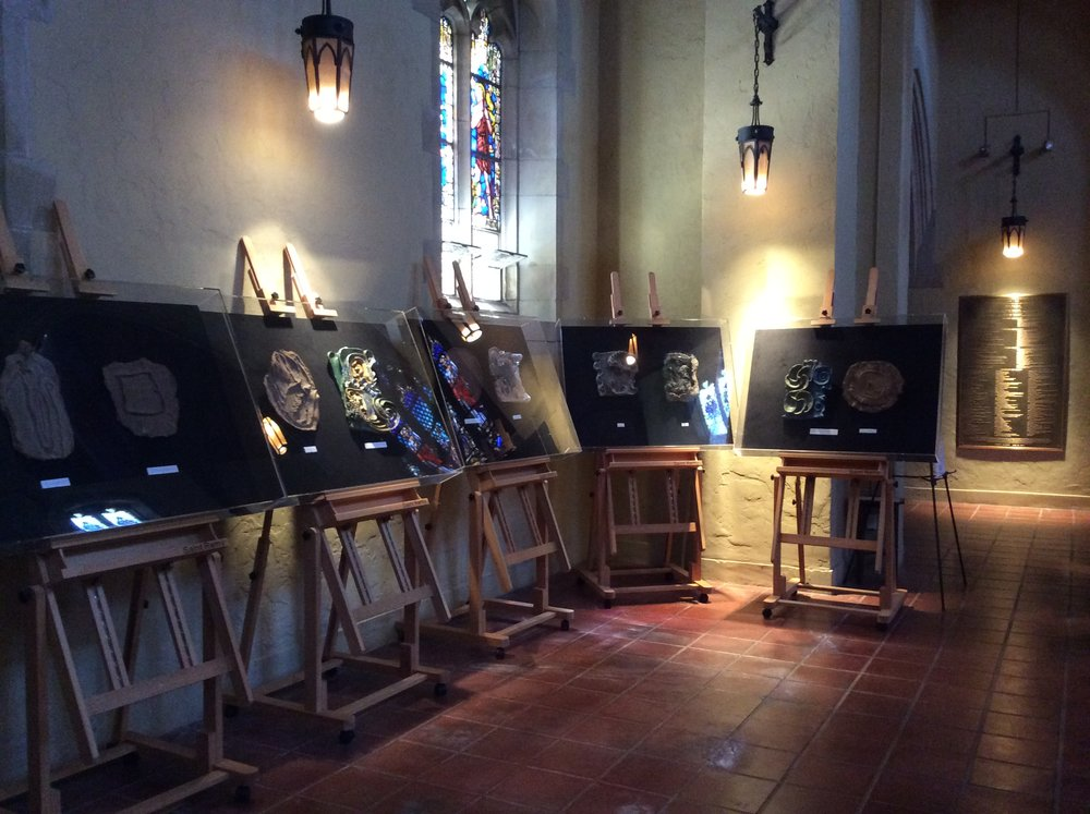 The Stations at Trinity Episcopal, Santa Barbara