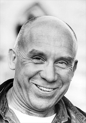 Photo of Thomas Merton by John Lyons, from Merton.org
