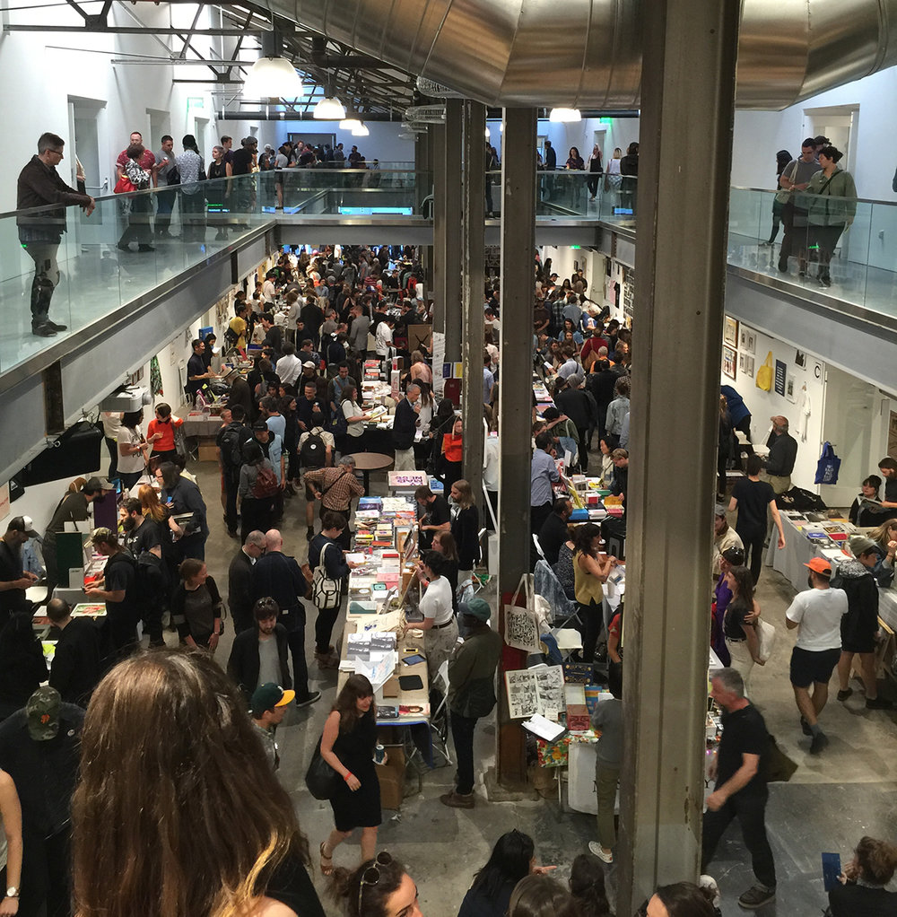 San Francisco Art Book Fair, Minnesota Street Project, San Francisco, CA, July, 2016.  http://www.parklifestore.com/
