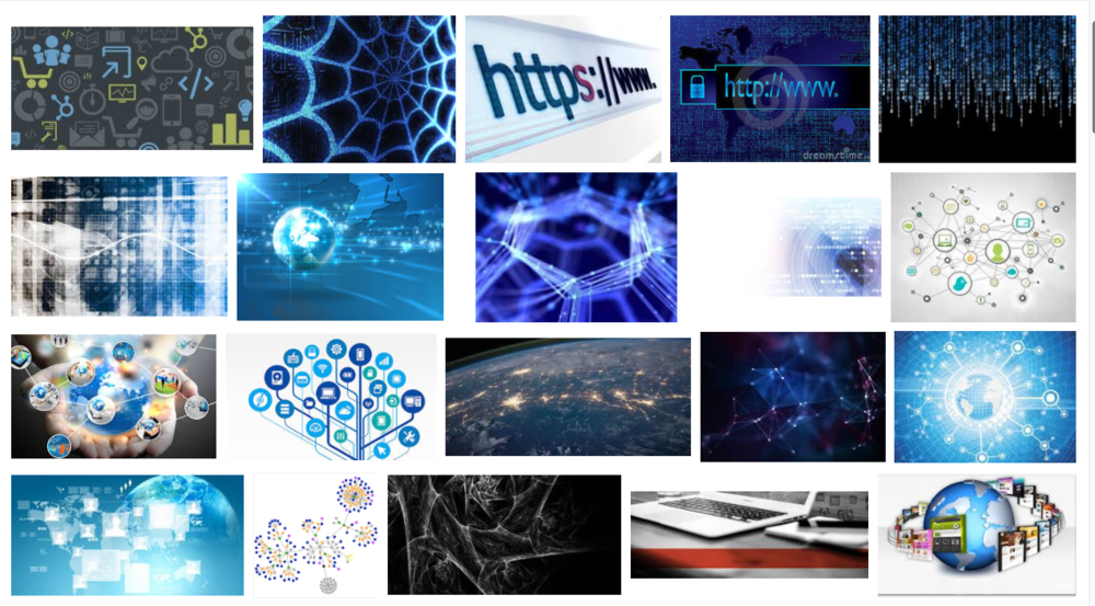 "Google Image search of ""Digital Web."" Accessed Sunday, January 29, 2017."