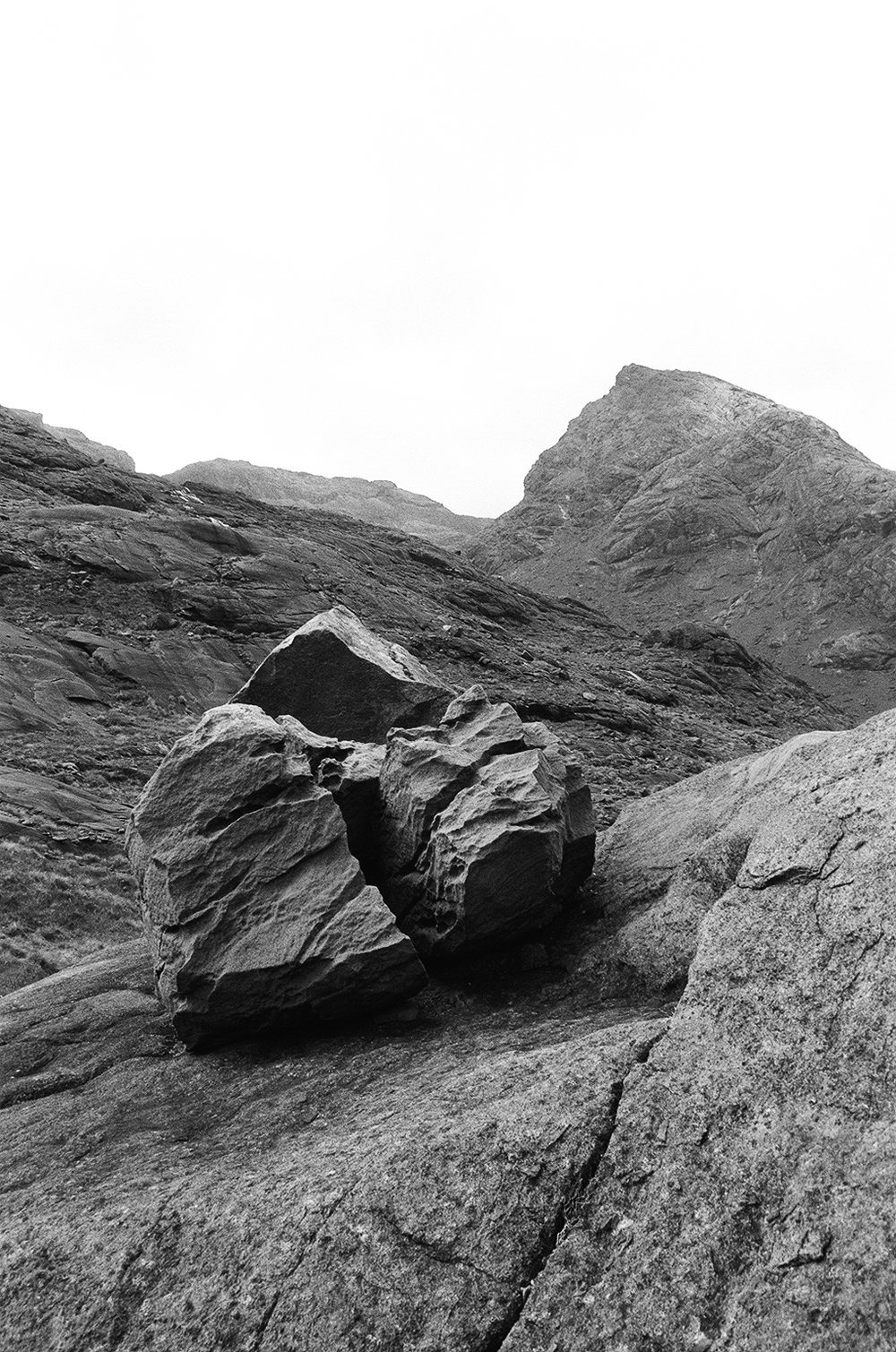 Kylie White,  Glacial Erratic , Loch Coruisk, 2017.  Image Courtesy of the Artist