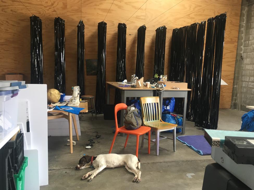 Erik Scollon studio, Recology. Image Courtesy of Matt Goldberg.